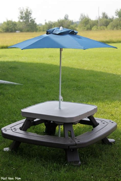 tikes fold n store picnic table 10 easy summer lunch ideas for