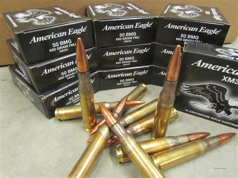 100 rounds federal lake city xm33c 50 bmg 50bmg 50 ca