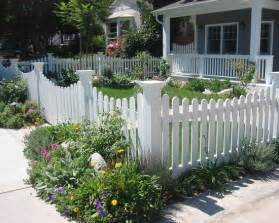 white picket fence with decorative corner posts white fencing garden fencing screens