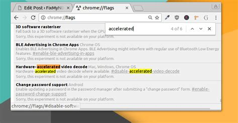 chrome gpu acceleration hardware accelerated video decoding in chromium for linux