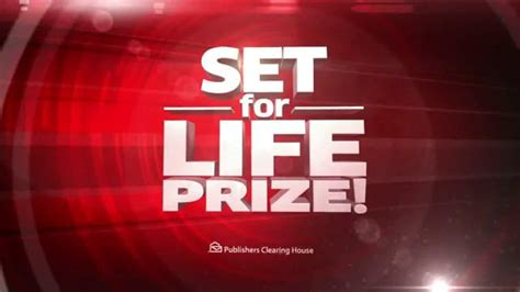 Set For Life Pch - publishers clearing house tv commercial set for life prize ispot tv