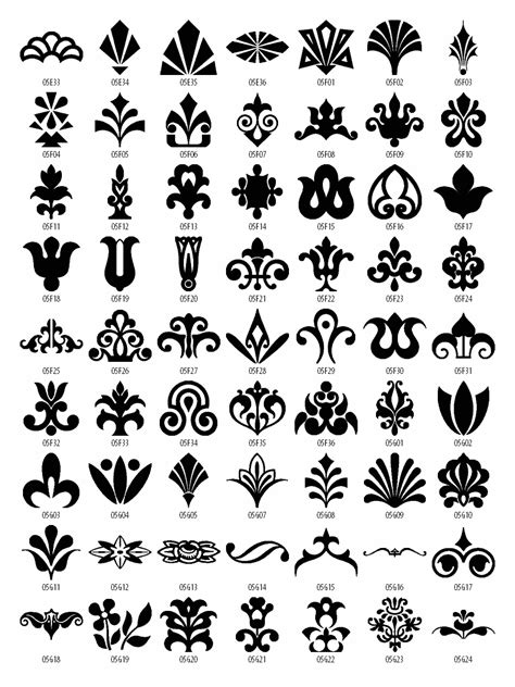 free font design elements free design patterns download design elements vector