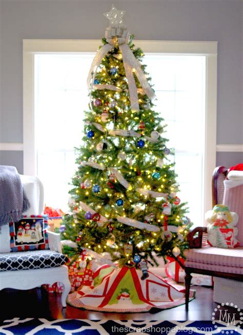 where to put a christmas tree with a fireplace 2014 decor how to raise your tree the scrap shoppe
