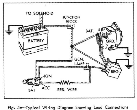305 chevy alternator wiring diagram free wiring