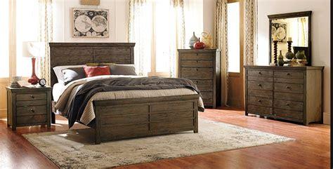 homelegance hardwin bedroom set weathered grey rustic brown  bedroom set