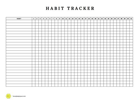 printable habit tracker how to create a habit tracker to achieve your goals free