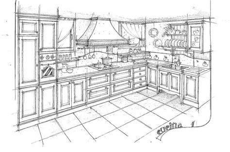 Disegni Di Cucine In Muratura by Disegni Cucine In Muratura Dettaglio Di Una Cucina In
