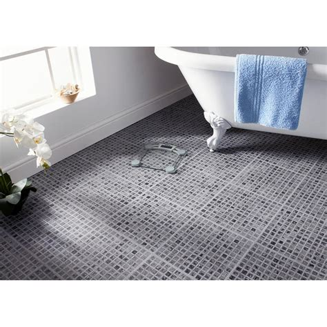 Selbstklebende Bodenfliesen Bad by Self Adhesive Floor Tiles Grey Mosaic Effect Tiling