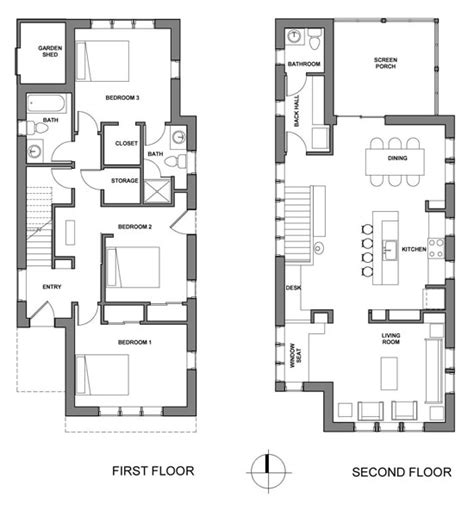 upside down house floor plans chuck 226 s house 226 framing kuhn riddle architects