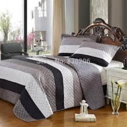 Gray Comforter Sets King Modern Comforter Coverlet Set 3pcs Quilted Bedding Set