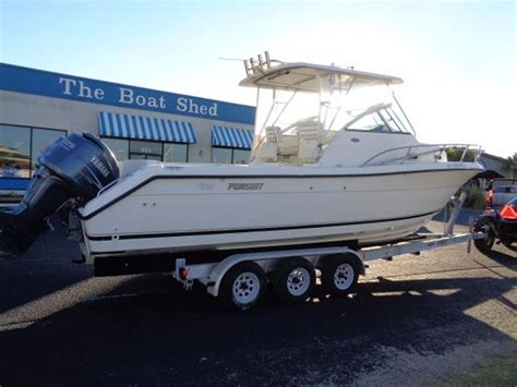 pursuit boats walkaround used walkaround pursuit boats for sale boats