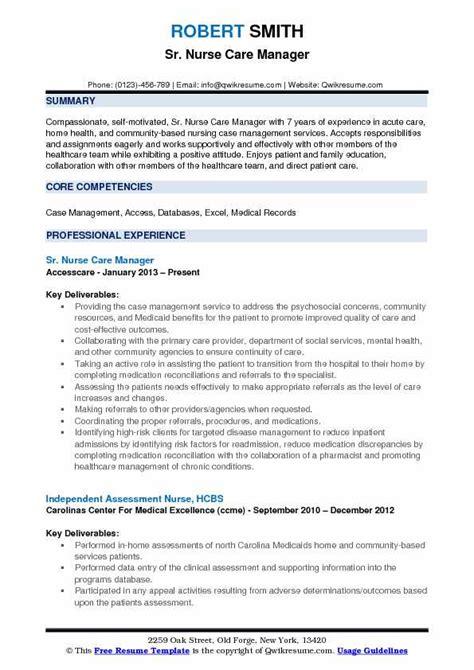 Home Health Care Resume Exle