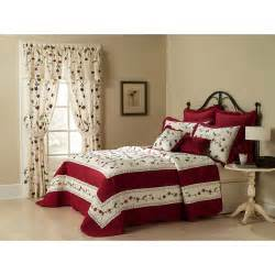 madelyn bedspread burgundy bedding walmart com