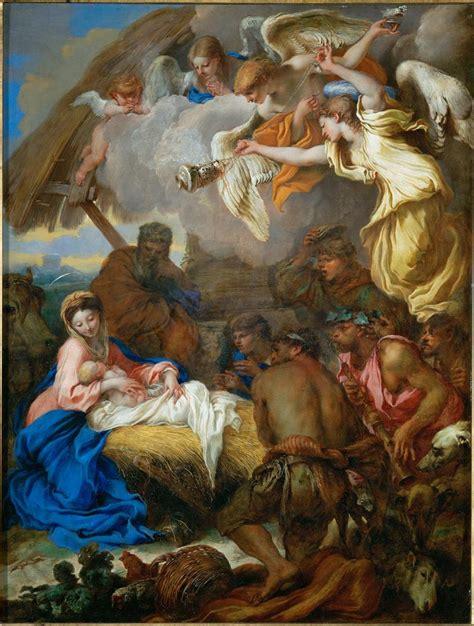 Gloria Dei 1664 by File Benedetto Castiglione The Adoration Of The