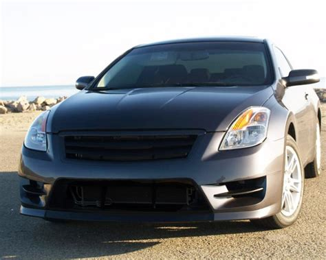 nissan altima coupe front bumper 108343 stillen front bumper fascia including top grille