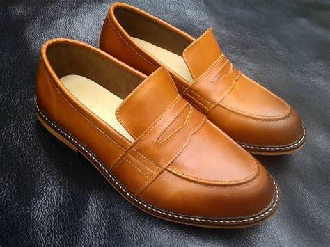 Sepatu Loafers Pria Pul Up Leather By Golfer beli sepatu kulit keren handmade dari pengrajin sepatu