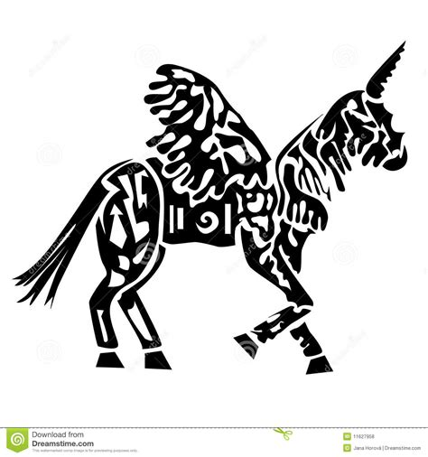 imagenes de unicornios en blanco y negro unicorn royalty free stock photos image 11627958