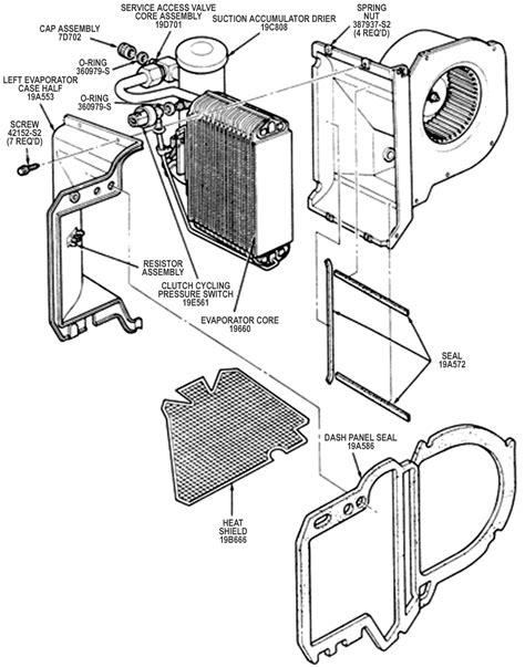 automobile air conditioning repair 1988 ford exp interior lighting repair guides heating and air conditioning evaporator autozone com