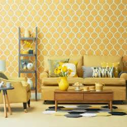 Create a fifties style look with floral dark wood furniture and