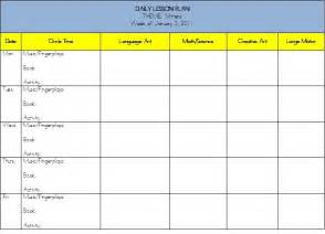 early childhood education lesson plan template daily lesson plan early childhood education search