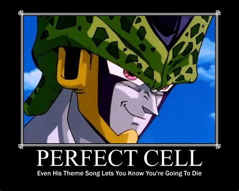 Perfect Cell Meme - cell dbz funny quotes quotesgram