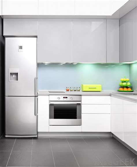 contemporary kitchen appliances chrome steel