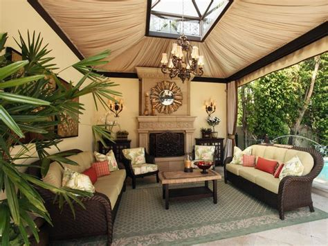 outdoor living rooms high end outdoor living space christopher grubb hgtv