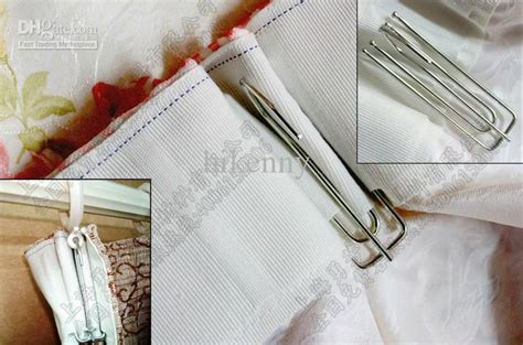 window curtains with hooks a zinc coating double pleated window curtain hook windows