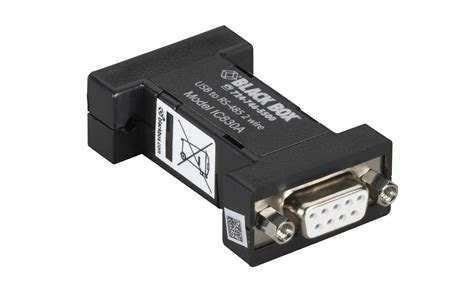 Usb 2 0 To Rs 485 Serial Converter usb 2 0 to rs485 2 wire converter db9 1 port black box