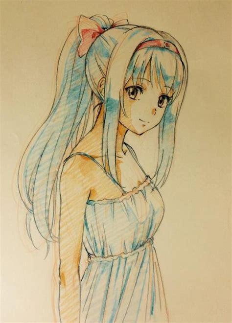 len 1a a happy hatsune miku drawing hatsune miku