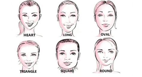 haircut based on your head shape jak dobrać idealny kształt brwi do owalu twarzy