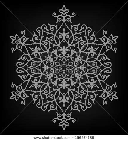 arabesque pattern autocad arabesque pattern mandala vector illustration stock