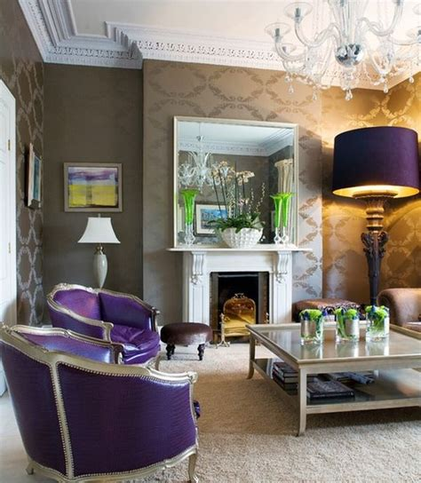 eclectic living rooms eclectic living room adds purple in a way you simply