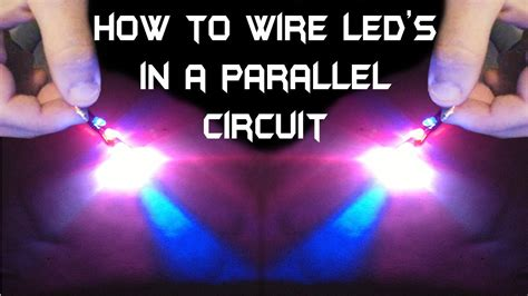 how to wire led s in a parallel circuit