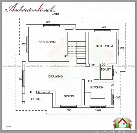 house plan best of below 1000 sq ft house plans in kera