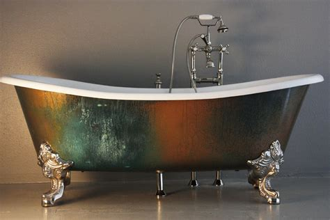 Clawfoot Bathtub Shower The Lanercost 73 Quot Cast Iron French Bateau Clawfoot Tub