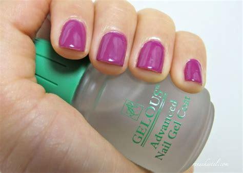 gel nail light sally s gel nail tutorial uses normal nail and no uv light