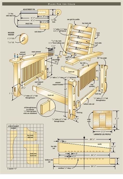 how to make house plans morris chair