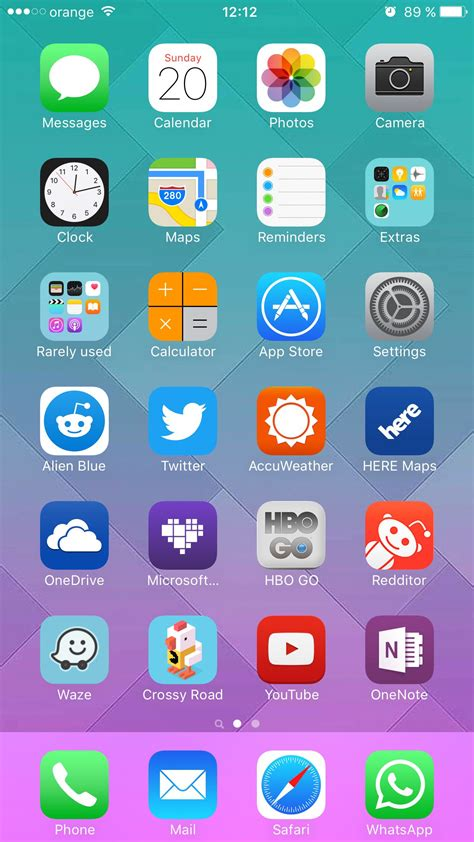 ios 6 iphone 5 home screen rachael edwards