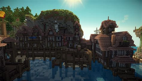 Minecraft Coastal City