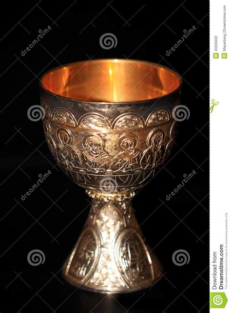 holy grail stock photo image of crucifixion communion