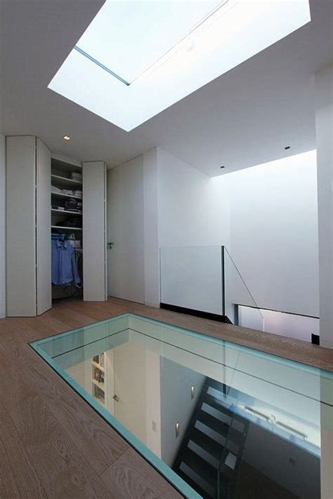glass floor glass floor to showcase cellar below cellar
