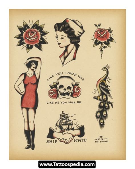 vintage design tattoos vintage design ideas 11