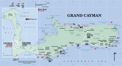 printable map grand cayman island large detailed road map of grand cayman island grand