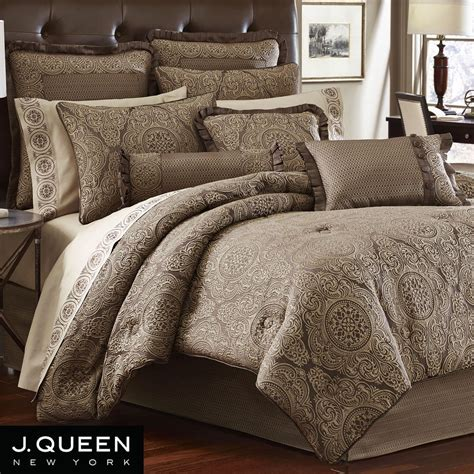 queen bed comforters villeroy medallion comforter bedding by j queen new york