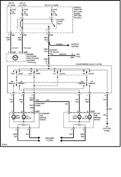 2000 ford focus ignition wiring diagram wiring diagram for
