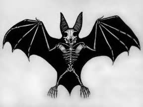 skeleton bat dark art evil art pinterest bar batman