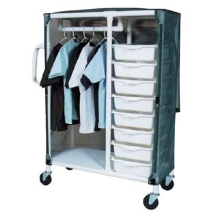 Pvc Closet by Combo Pvc Cart With Storage Bins Clothes Closet 8 Bins