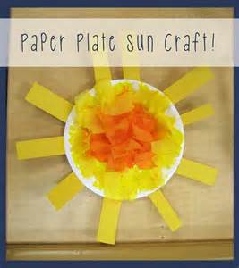 Paper Plate Toddler Crafts - best 25 weather crafts preschool ideas on