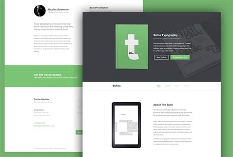 ebook html template 55 free responsive html5 css3 website templates